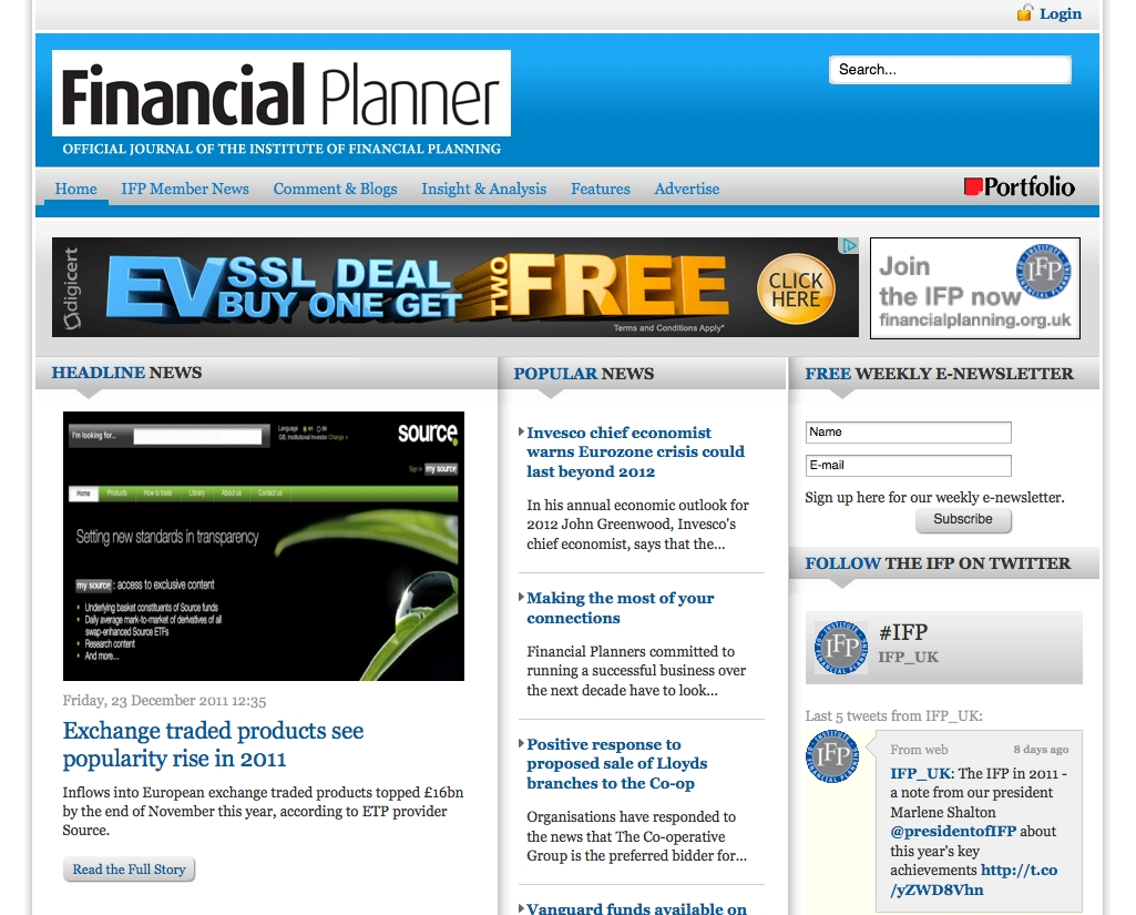 Financial Planner Online