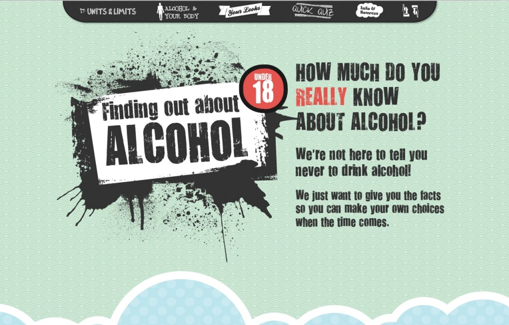 Finding out about alcohol