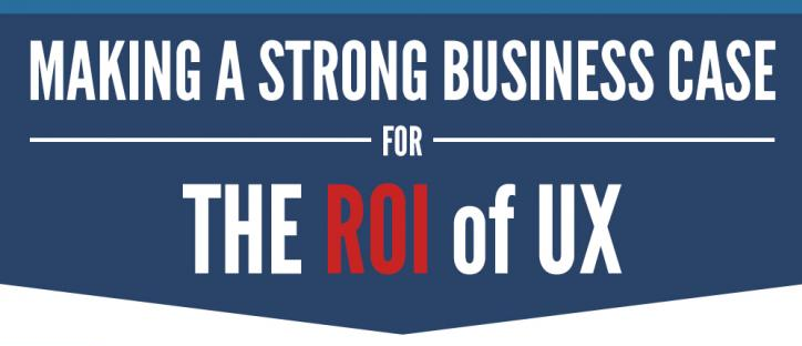 The ROI of User Experience (Infographic)