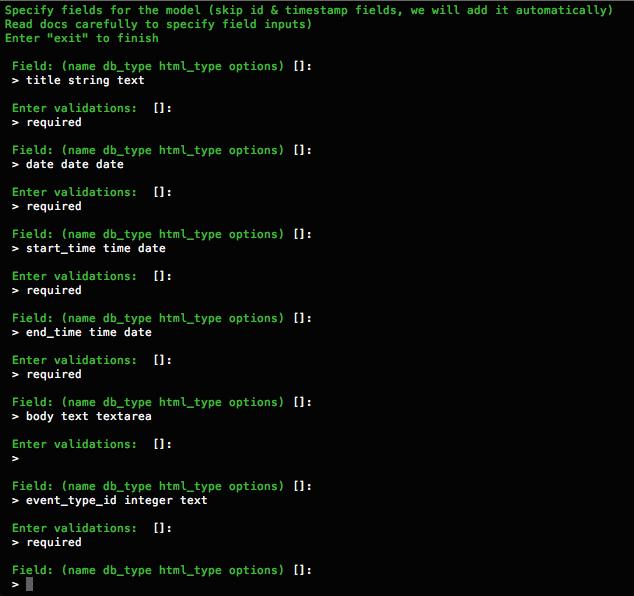 Introduction to Infyom's Laravel Generator - Develo Design Blog