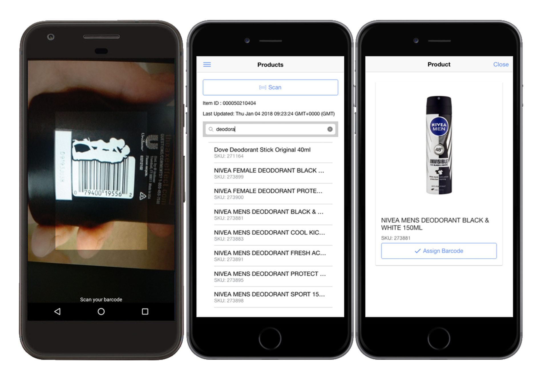 Ionic App Portfolio: Magento Mobile Inventory Management