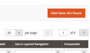 Create New Magento Product Attribute Button Position Top Right