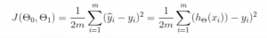 the cost function equation expanded