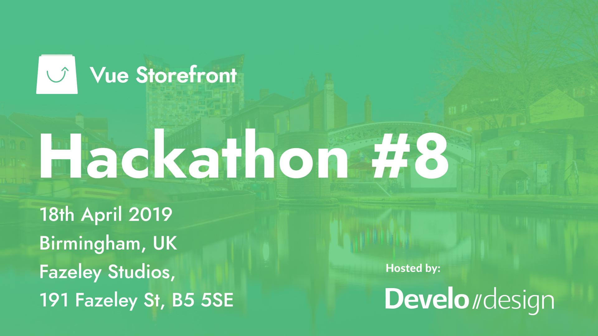 Vue Storefront Hackathon #8