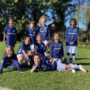 Bournville Girls Football Team